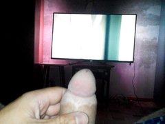 masturbation with girl-TV