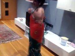 sexy nepali wife dancing