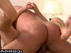 Nick gets into Patrick's pants sucks his cock then bangs him