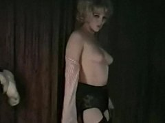 WHOLE LOTTA SHAKIN' - vintage blonde dances and strips
