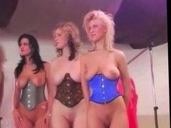 Girls with Big Boobs Naked on a Fasion Show