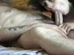 Hard suck and cum