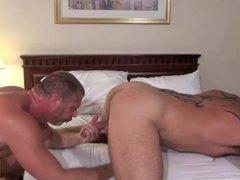 Lee Denim + Colin Steele bareback fucking hardcore gay