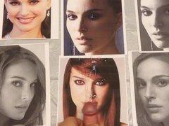 Cumshot Tribute: Natalie Portman