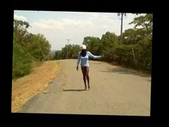 Big Dong Shemale Hitchhiking