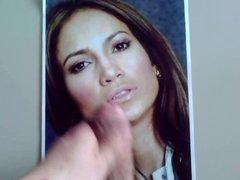 Jennifer Lopez cum tribute