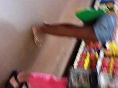 slim Jamaican bubblebutt, bend over