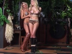 Two Blonde Lesbian Babes Bondage