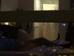 hotel voyeur having sex in window