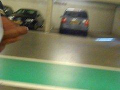 jerking in a parking garage Part 2