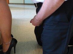 Feet in Nylon - Video 17