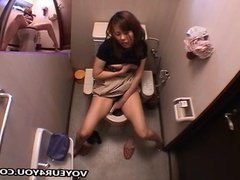 Masturbation In Toilet Room Area