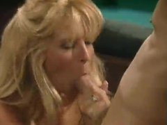 Joel Lawrence's Big Cock Sucked and Fucked by Blonde