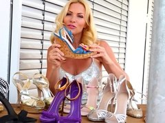 sonya kraus high heel workout