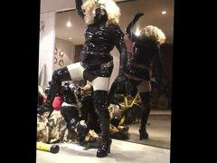 Roxina Hot Lady In PVC X