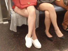 Asian legs on train 5
