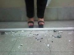 Maria Silvina trample tubos