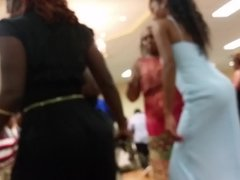 phat booty twins dancing at a wedding