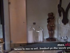 Thresome with a reala amteur swingercouple on livecams