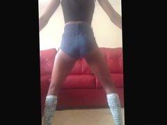 Slim Black Teen Twerk 1