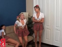 High schooler wedgie party with Taylor Raz