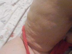 fun in red panties