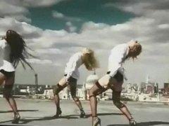 BORDERLINE - hardcore porn music video lingerie stockings