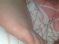Cum over GF feet