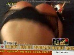 Ana Maria Mocanu dancing Taraf tv