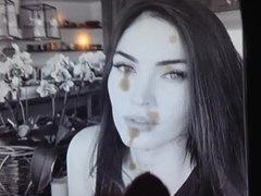 Megan Fox Gets a Blasting - Cum Tribute #4