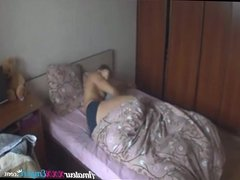 Early in the morning couple have sex