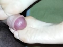 footjob soles cum my wife