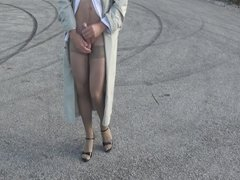 Pantyhose Outdoor part 4 of 6