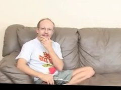 Teen is interviewed with one sleazy old man PART1