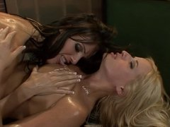 Madison James Gets Oiled Up