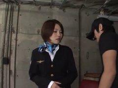 Sara Yoshizawa Stewardess 4 -=fd1965=-