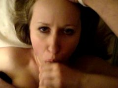 Amateur Blowjob and Facial