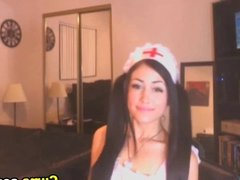 Cute Babe Cosplay Nurse HD
