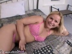 Chubby plumpy blowjob girlfriend gives good head and lovers