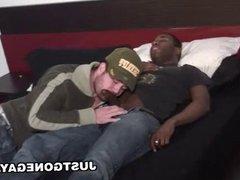 White Boy Takes Big Black Dick