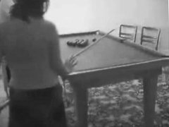 Hidden Cam Sex - Pool Table Action