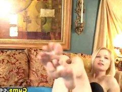 Blonde Striptease Show HD