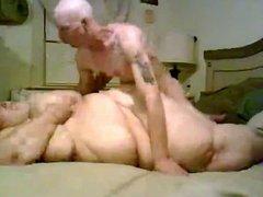 Skinny Guy Fucking his Super sized Fat BBW Ex Girlfriend