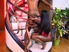 INDIA DOING A SEXY BJ SCENE