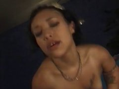 Bridget The Midget Taking Big Cock