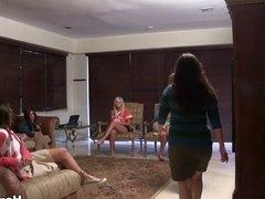 Naked Sorority Girls Get Treated Like Dogs