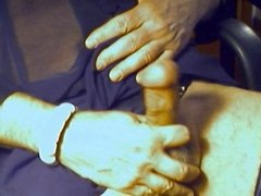 cumshot in stockings