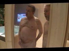2 Bears,a bloke fucking in the sauna 2 MILFs - by neurosiss