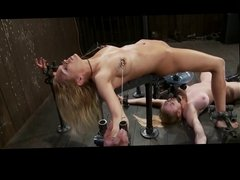BDSM squirting and drinking - by neurosiss