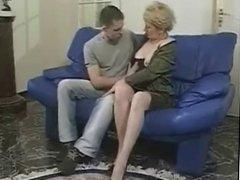 Grannies loves to tease horny boys